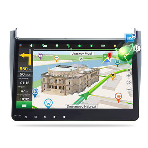 Image 2 - 4G RAM אנדרואיד 9.0 רכב רדיו מולטימדיה נגן עבור פולקסווגן פולו 2015 2017 GPS וידאו WIFI Bluetooth ניווט סטריאו אין DVD