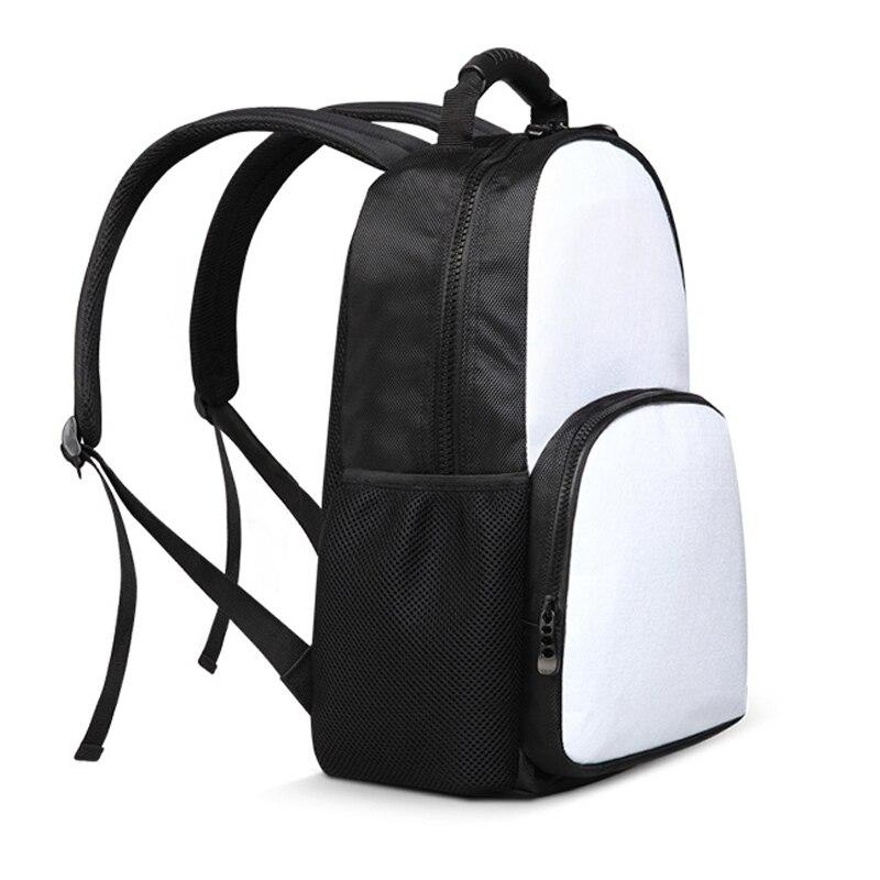 INSTANTARTS Kawaii 3D Short Hair Cat/Kitten Print Backpacks Casual Large Youth Bagpack Funny Animal Design Travel Campus Daypack