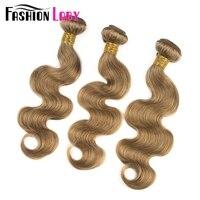 Mode Dame Pré-Couleur Brut Indien Vague de Corps de Cheveux Bundles 100% de Cheveux Humains 27 #3 Bundle Offres Non-Remy