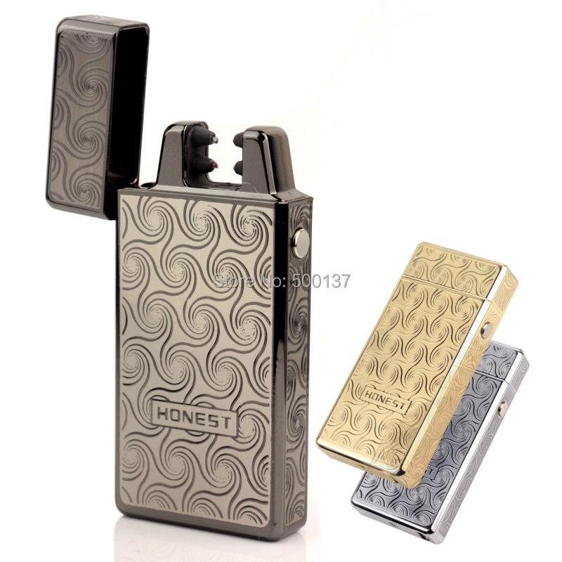 Luxury USB font b Electronic b font X Double Arc Ignition font b Cigarette b font