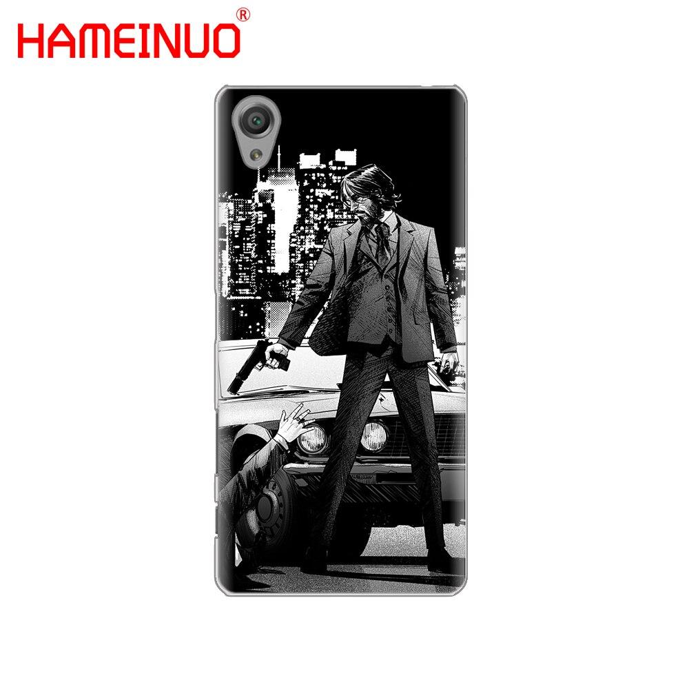 HAMEINUO Джон фитиль крышка телефона чехол для sony xperia C6 XA1 XA2 XA ULTRA X XP L1 L2 X XZ1 компактный XR/XZ Премиум