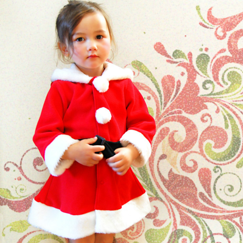 2016 Children Christmas Clothing Set Girls Christmas Suit Kid ...