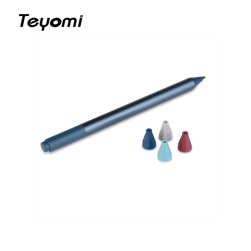 Teyomi Soft Silicone Protective Shockproof Replacement Surface Pen Tip Cover Case Skin For Microsoft Surface Pen(4pcs)