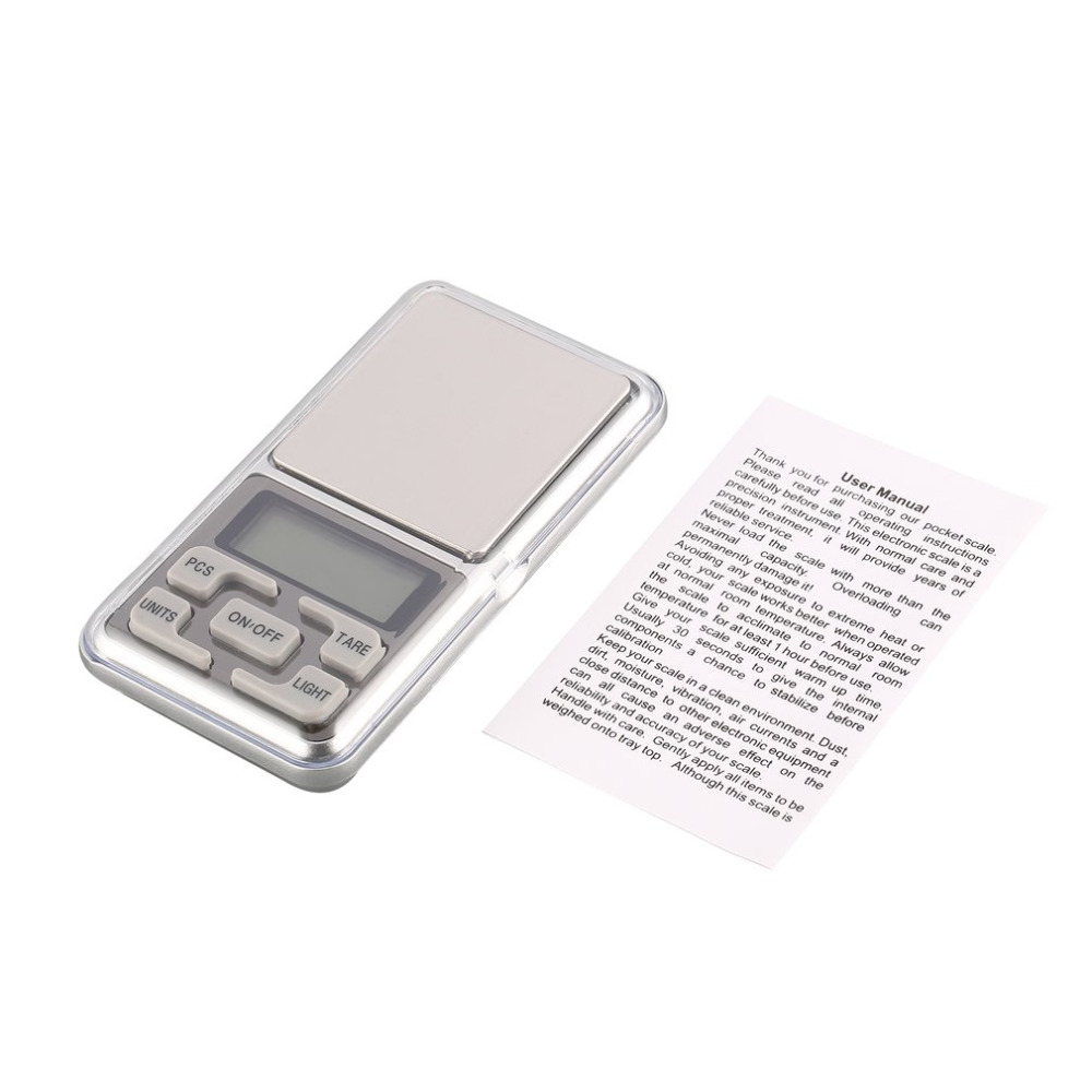 Mini Digital Pocket Scale 1000g 0.1g Precision gtlozctgn Weight Measuring for Kitchen Jewellery Gold Tare Weighing