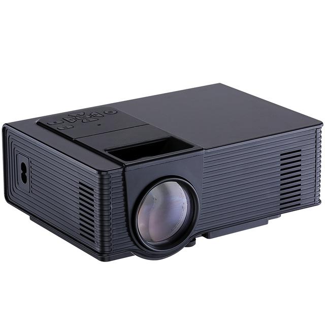 WooYi VS314 Projetor 1500 Lumens Suporte 1920x1080 P Analógico TV LED Projetor MINI Projetor de Cinema Em Casa Digital TV UC40 UC46