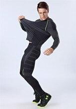 Quick-сухой органа плотно боди shaper сжатия похудения нижнее фитнес длинным тонкий