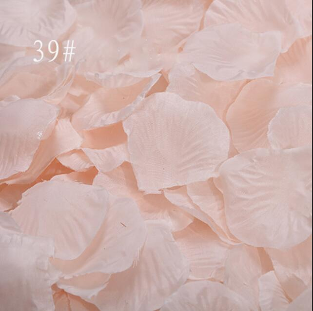 Rose Petals 1000 Pcs/lot Wedding Decorations Flowers Artificial Wedding Rose Flowers Party Room Accessories Mariage 2019 RS01