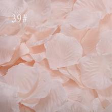Лепестки роз, 1000 шт./лот, свадебные украшения, цветы, искусственные Свадебные розовые цветы, Красочные вечерние аксессуары для комнаты, для свадьбы, RS01