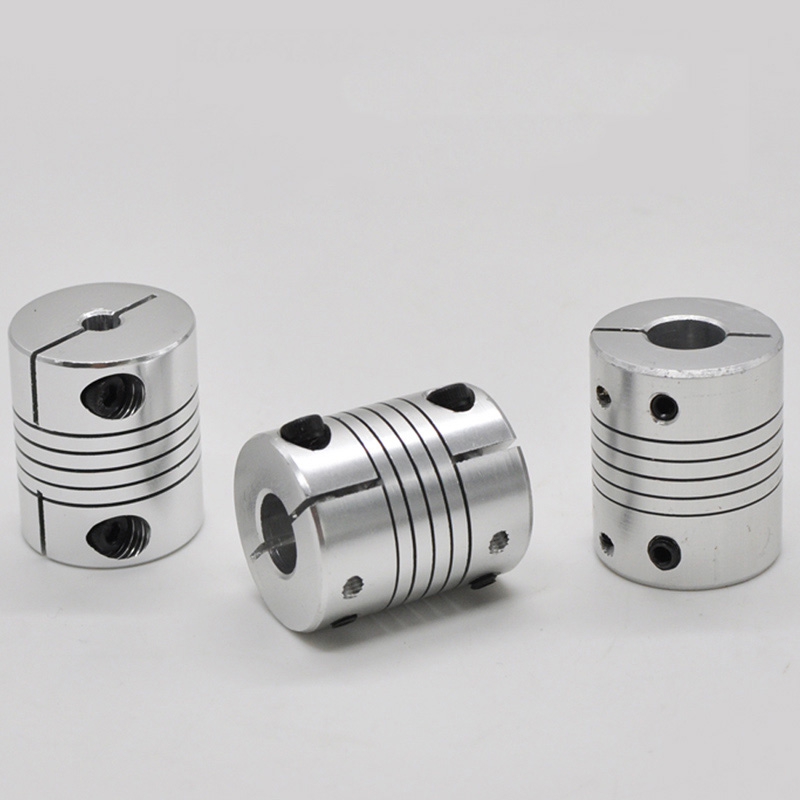 Motor Shaft Screw Ballscrew Coupling Coupler 5mm 6.35mm 9 10mm CNC 3D Printer