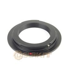 Anillo adaptador de lente para lente M39 y adaptador Canon EF EF S 7D 50D 550D T2i 500D