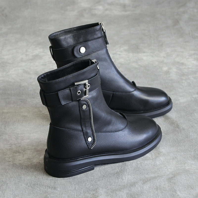 2019 Martin boots original handmade leather shoes new fashion short boots2019 Martin boots original handmade leather shoes new fashion short boots