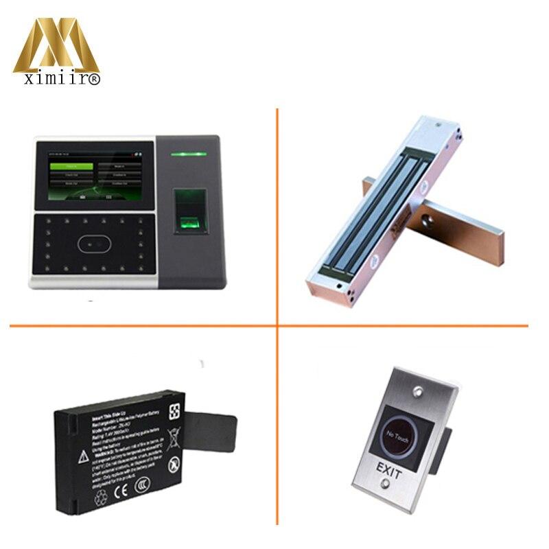 Лицо и доступа отпечатки пальцев Управление Iface302 Сенсорный экран с Камера 125 кГц RFID карты посещаемость времени