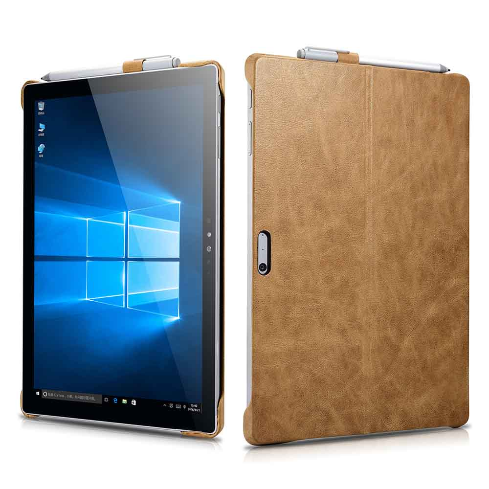 Ultra-Slim PU Leather Case for 12.3 Inch Microsoft Surface P