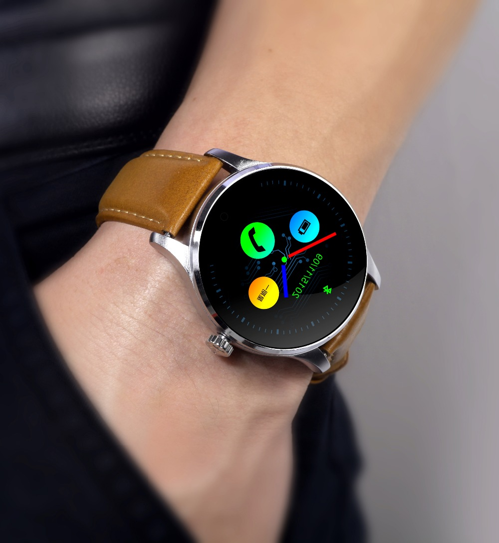 PARAGON Smartwatch K88H Heart rate monitor bluetooth Smart watch Russian Hebrew Korean for moto xiaomi apple
