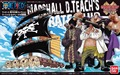 Bandai One Piece gran nave colección Marshall D Teach barco pirata modelo de escala building model