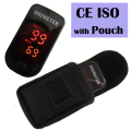 CE ISO Certificate with Pouch Pulse Oximeter Heartbeat Oxygen Saturation Highly Recommended