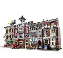 LP DHL в наличии 15001 15002 15003 15004 15005 15006 15007 15008 15009 15010 15011 15012 модель дома, конструкторные блоки, Детские кубики, игрушки