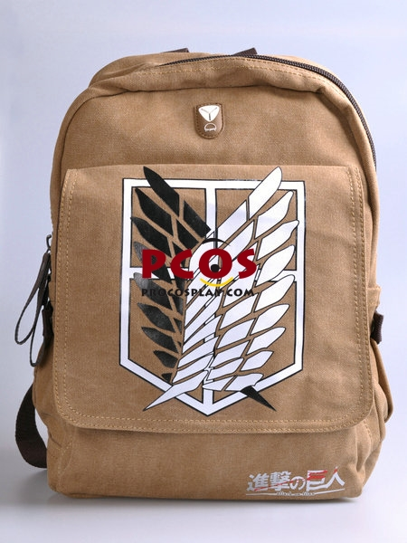 Attack on Titan Recon Corps Backpack / Schoolbag Cosplay mp000790