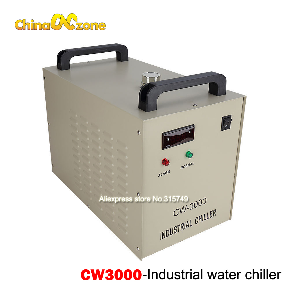 CW3000 Water Chiller Industry Chiller for CO2 Laser Engraving Cutting Machine Cooling 50W 60W 80W Laser