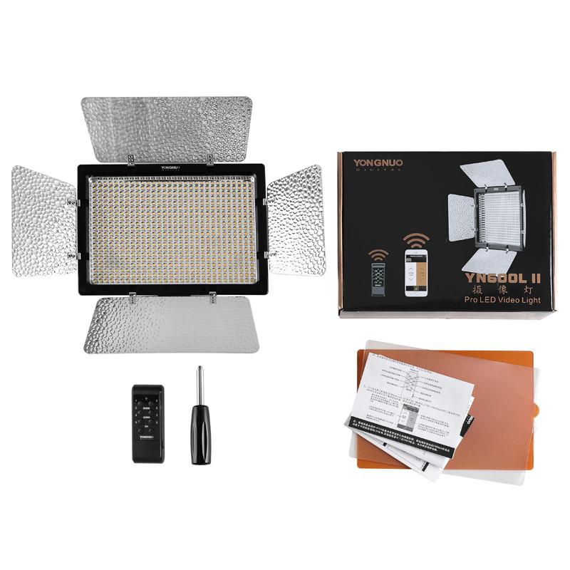 YONGNUO-YN600L-II-5500K-YN600-II-600-Video-LED-Light-Panel-2-4G-Wireless-Remote-Control (1)