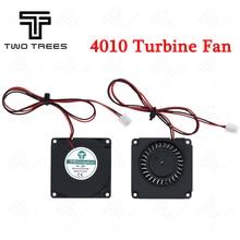 3d принтер турбинный вентилятор 5 в 12 В 24 в 40 мм* 10 мм 4010 DC турбо вентилятор 5 в подшипник воздуходувка Радиальные Вентиляторы Охлаждения для Creality CR-10 комплект