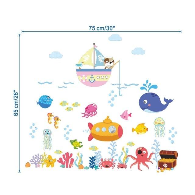 Fish Bubble Wall Stickers 10