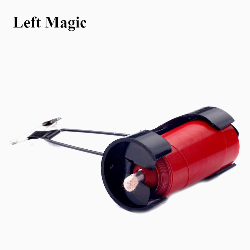 Vanishing / Appearing Candle Clip 2.0 Magic Tricks ( Not Include Candle ) Candle Holder Magic Accessories Stage Gimmick Props