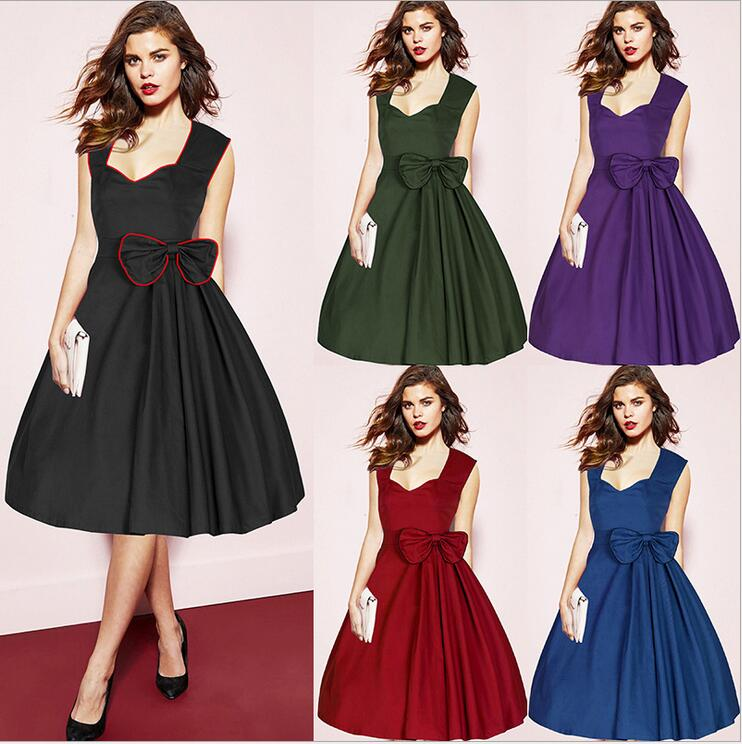 Perfect Buy HOMEYEE Womens 1950s Vintage Elegant Cap Sleeve Swing Party Dress A009 And Other Cocktail At  Our Wide Selection Is Elegible For Free Shipping And Free Returns About Us HOMEYEE Specializes In Designing, Manufacturing