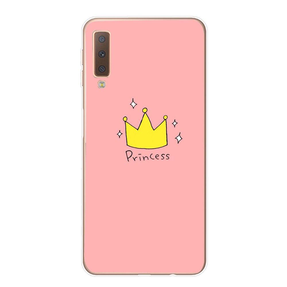 Cartoon Case For Coque Samsung A7 2018 Case Cover Soft Tpu Fundas For Samsung Galaxy S9 S10 Plus S10E S 10 Lite J530 Bags