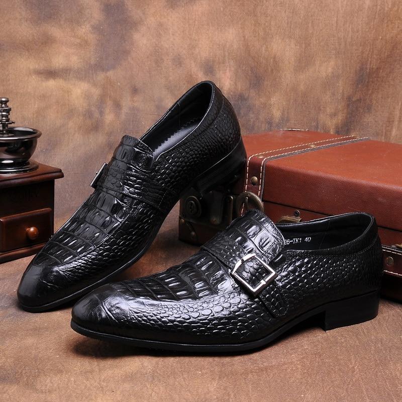 1 vendiamo solo di alta qualità degli uomini del cuoio genuino scarpe. 47b2a5a8ef8