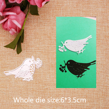 Cute Little Bird  Metal Cutting Dies for craft Scrapbooking Stamps DIY Card making New 2019 6*3.5cm