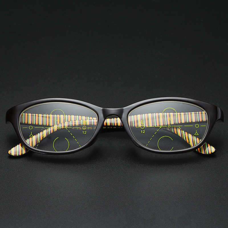 TR90 Multi-focal Progressive Reading Glasses Men Women Diopter Presbyopic Eyeglasses Clear Intelligence Multifocal Glasses