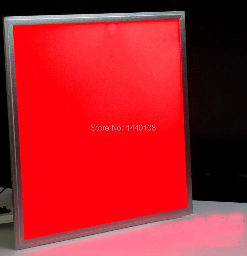 DHL светодио дный 600x600 Вт Светодиодная панель 36 Вт Rgb многоцветный светодио дный светодиодный светильник с гарантией 3 года CE RoHS Бесплатная до