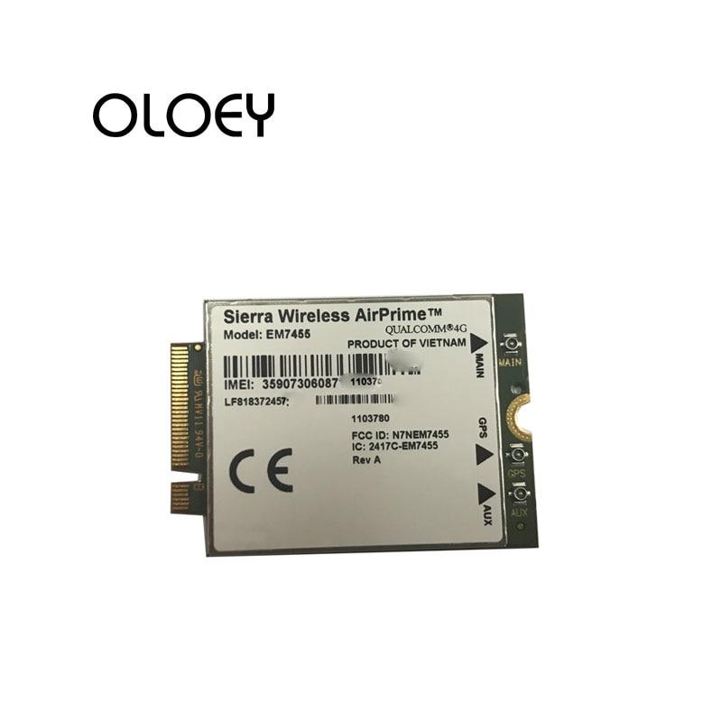 SierraWireless EM7455  FDD LTE TDD LTE 4G Module CAT6 GNSS WWAN Card,100% Brand New Original
