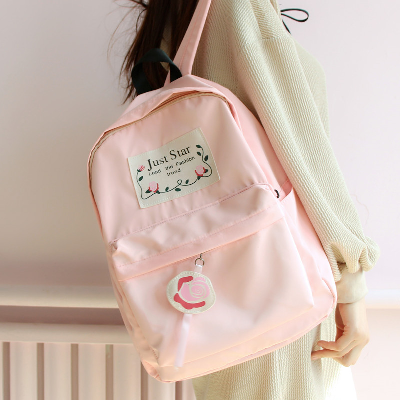Japanese Korean cute girl student bag fresh shoulder bag female Korean style travel backpack банка для сыпучих продуктов loraine lr 27197