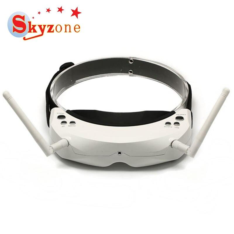Skyzone SKY02S V + 3D 5.8g 40CH FPV Video Occhiali Con La Testa di Inseguimento HDMI DVR Riproduzione Per RC Mini drone Parte