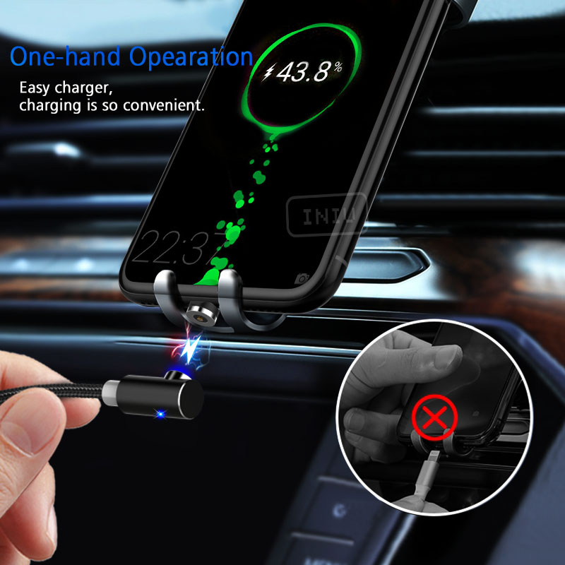 Magnetic Phone Charger is so easy to connect