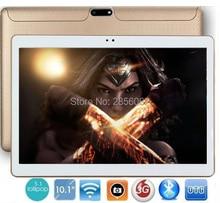 Tableta androide de 10 pulgadas 3g wcdma teléfono pad quad core 1280*800 wifi fm gps de la tableta de 2 gb + 16 gb