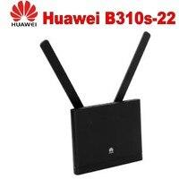 Открыл новое поступление huawei B310 B310s 22 с антенной 150 Мбит 4G LTE CPE WI FI маршрутизатор модем с Sim карт памяти до 32 устройств