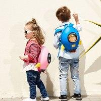 Nursery School Bags Children Mini 3D Cartoon Backpack Rocket Cute Baby Girl Student Toddler Bag Gift for Boy Mochila Escolar