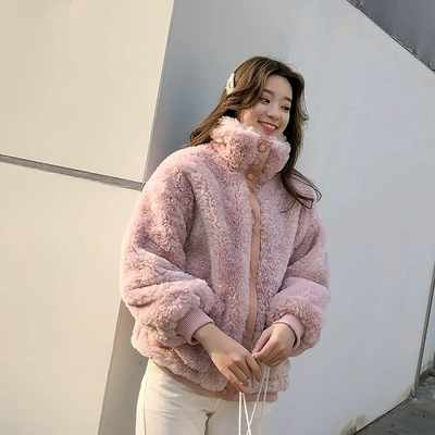 New Style High end Fashion Women Faux Fur Coat 17C35 in Faux Fur from Women 39 s Clothing