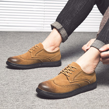 Высококачественная обувь bullock; мужские кроссовки на плоской подошве; модная мужская кожаная повседневная обувь; удобные мужские оксфорды