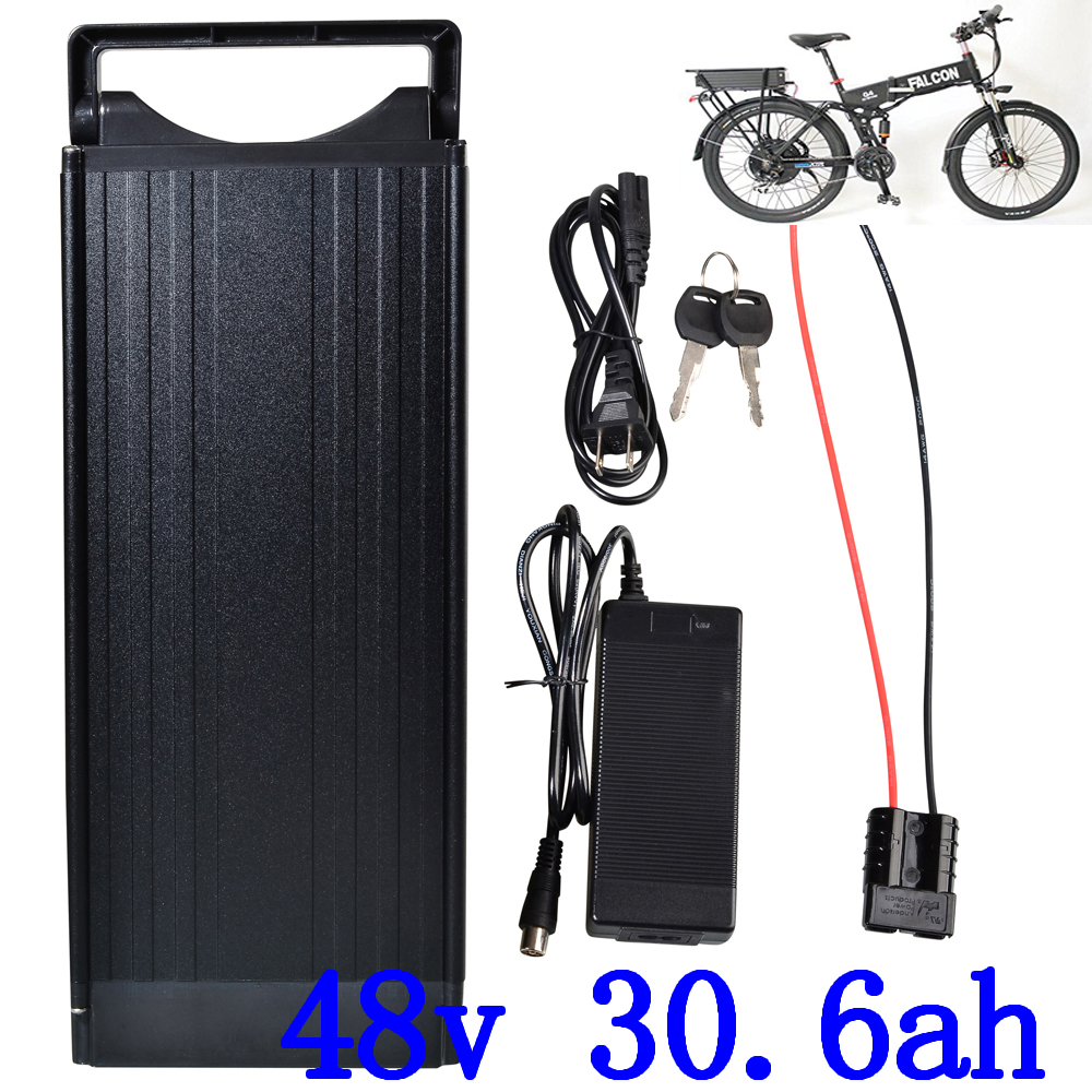 1000W 48V 30AH electric bicycle battery 48V 30AH lithium ion battery 48V ebike 48V ebike battery with 5A charger and Tail Light1000W 48V 30AH electric bicycle battery 48V 30AH lithium ion battery 48V ebike 48V ebike battery with 5A charger and Tail Light