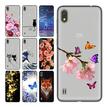Geruide For ZTE Blade A530 5.54 inch Case Cover, Printed Soft Silicon TPU Back Cover Case For ZTE Blade A530 A606 Phone Cases цена