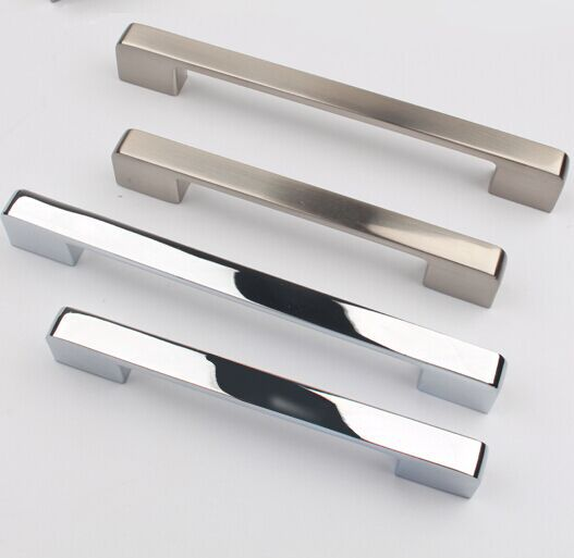 96mm silver drawer kitchen cabinet handle stain nickel dresser cupboard door pull modern simple chrome furniture door handle 96mm silver drawer kitchen cabinet handle stain nickel dresser cupboard door pull 128mm modern simple chrome furniture handle