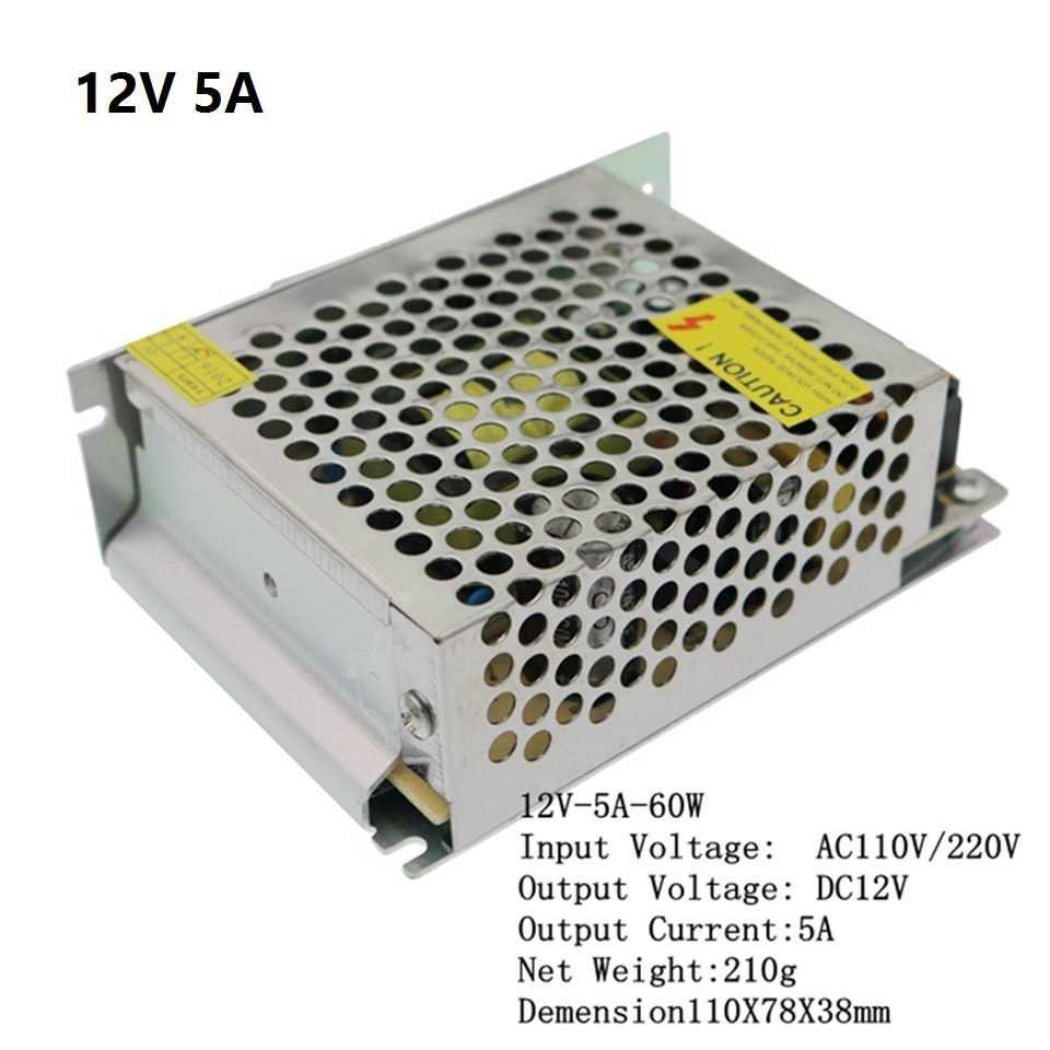 Controlador de fuente de alimentación LED de aluminio AC110V/220 V a cc 5V 12V 24V 1A 2A 3A 5A 10A 20A 30A 40A 50A adaptador de interruptor para tira de luz LED