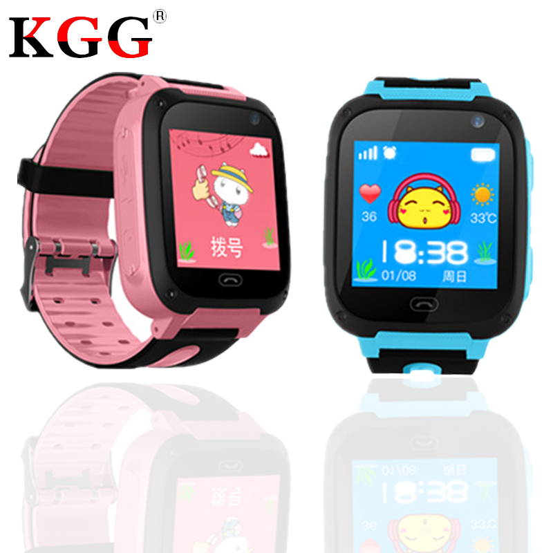 S4 Smart Children Watch Waterproof Monitor Positioning SIM