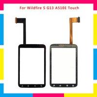 5 шт./партия, высококачественный сенсорный экран, дигитайзер, сенсорная внешняя стеклянная линза, панель для htc Wildfire S G13 A510E