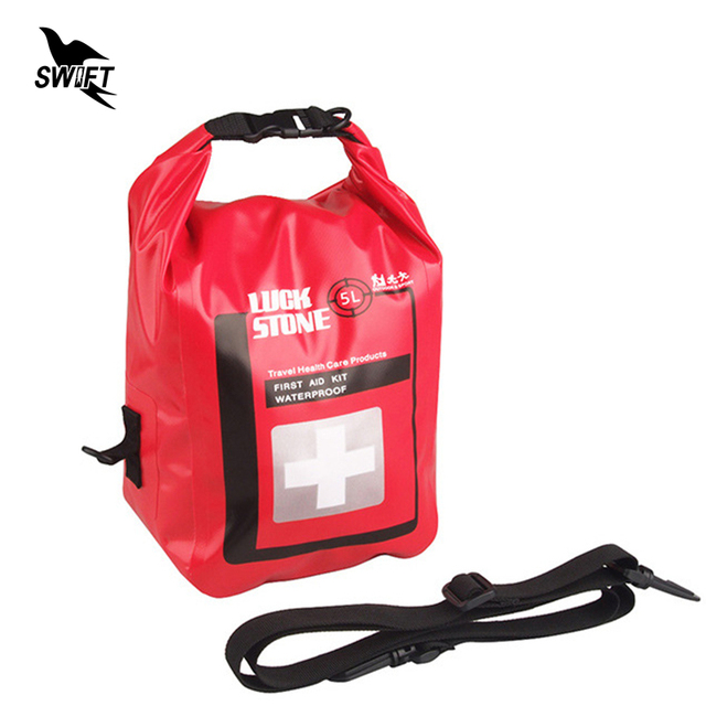 2L/5L Outdoor Waterproof First Aid Bag Emergency Medical Kits Travel Camping Hiking Survival Dry Bag Drugs Storage Case