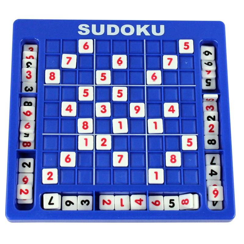 Судоку номер игры шахматы головоломка судоку Математика игрушки обучение Развивающие игрушки подарок для детей взрослых # E